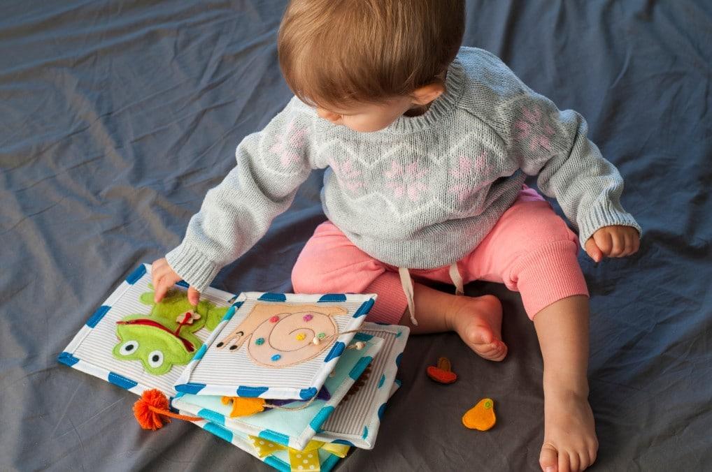 Les livres d'éveil pour bébé