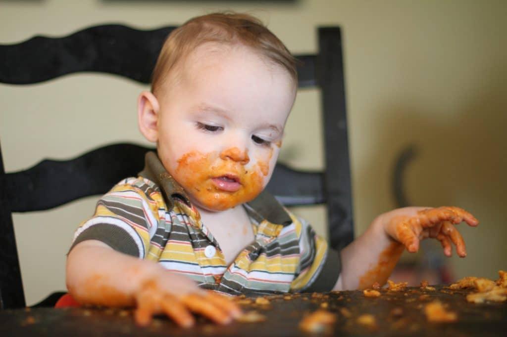 Quel repas pour un bébé de 9 mois?