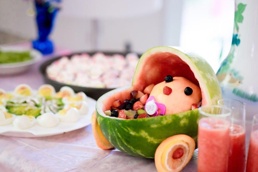 Légumes et fruits pour un bébé de 9 mois